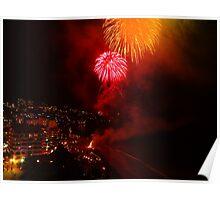 Happy New Year From Puerto Vallarta - Feliz Año Nuevo Desde Puerto Vallarta Poster