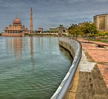 Putra Mosque by Adrian Evans
