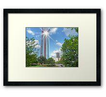 Oklahoma City Highrise Framed Print