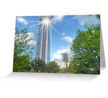 Oklahoma City Highrise Greeting Card