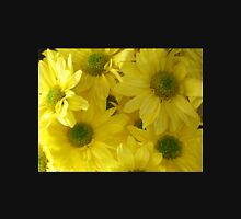 Yellow Chrysanthemums Womens Fitted T-Shirt