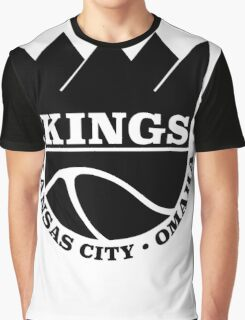 Kansas City Kings Omaha Graphic T-Shirt