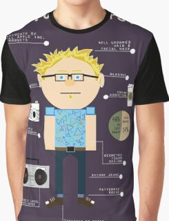 How To Be A Hipster Graphic T-Shirt