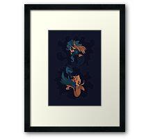 Hypnos & Thanatos & Hypnos Framed Print
