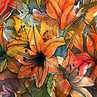 Orange Lilies by Mike Crawford