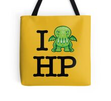 I Love HP Lovecraft - Cthulhu Tote Bag