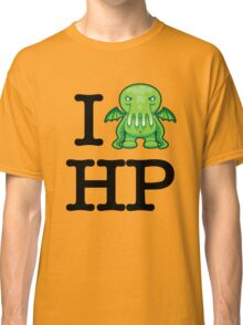 I Love HP Lovecraft - Cthulhu Classic T-Shirt