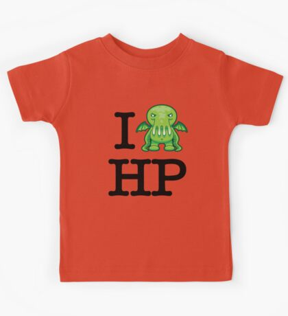 I Love HP Lovecraft - Cthulhu Kids Tee