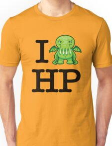 I Love HP Lovecraft - Cthulhu Unisex T-Shirt