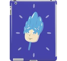 Super Saiyasicle Blue Raspberry God Flavor iPad Case/Skin