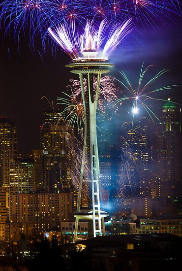Seattle New Year 2012! by Inge Johnsson