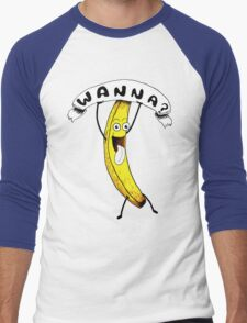 Wanna Banana? Men's Baseball ¾ T-Shirt