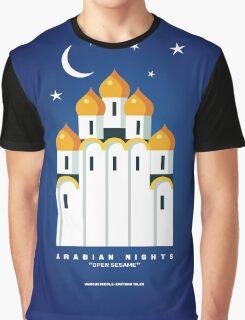 Literary Classics Illustration Series: Arabian Nights Graphic T-Shirt