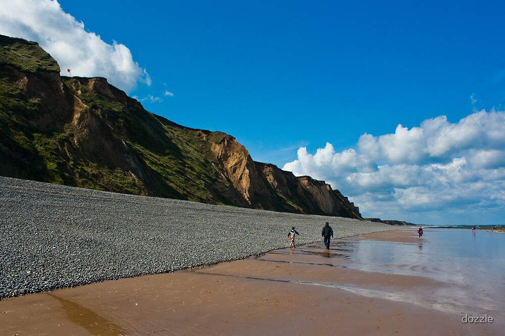 Sheringham Beach, Norfolk, UK by dozzie