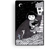 The Midnight Mouse Memorial Canvas Print