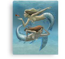 Siren Sisters Canvas Print