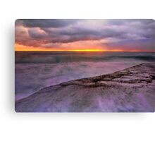 Storm, Sun and the Sea Canvas Print
