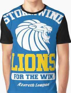 Lions For The Win!! Graphic T-Shirt
