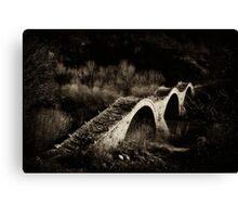 Kalogeriko bridge Canvas Print