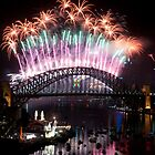 Simply The Best ! - Sydney NYE Fireworks  #2 by Philip Johnson