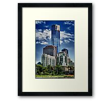 Dominating Tower Framed Print