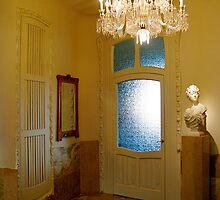 Hall of La Pedrera by Honeyboy Martin