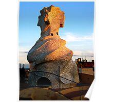 Tower of La Pedrera Poster