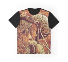 orange fox Graphic T-Shirt