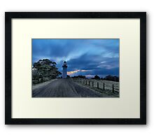 Table Cape Lighthouse Framed Print