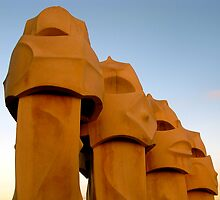 The Soldiers of la Pedrera by Honeyboy Martin