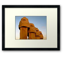 The Soldiers of la Pedrera Framed Print