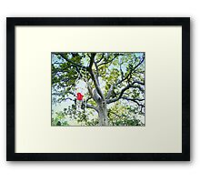 Tree trapezi Framed Print