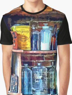 Apothecary Stockroom Graphic T-Shirt