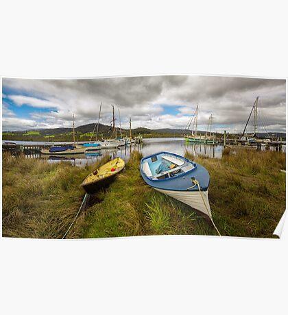 Wooden Boat Centre, Franklin, Tasmania #15 Poster