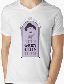 Poirot's Little Grey Cells Team Mens V-Neck T-Shirt