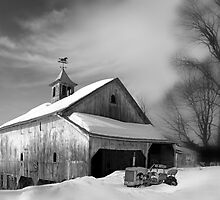 Barn in Granby Connecticut by JimBremer