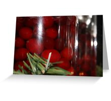Christmas Cranberries Greeting Card