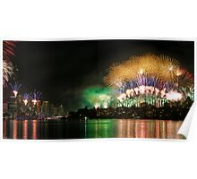 New Year's Eve, Sydney Harbour 2011-2012 Poster
