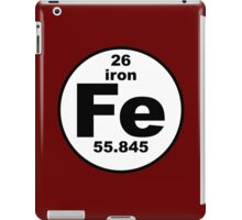 Fe - Iron iPad Case/Skin