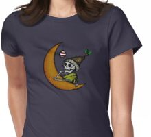 Super Silent Night Womens Fitted T-Shirt
