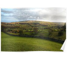 Late Wensleydale Sun Poster