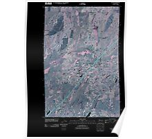 USGS Topo Map Washington State WA Tyler 20110401 TM Inverted Poster