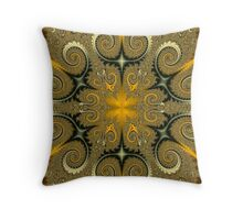 Curlicue Throw Pillow