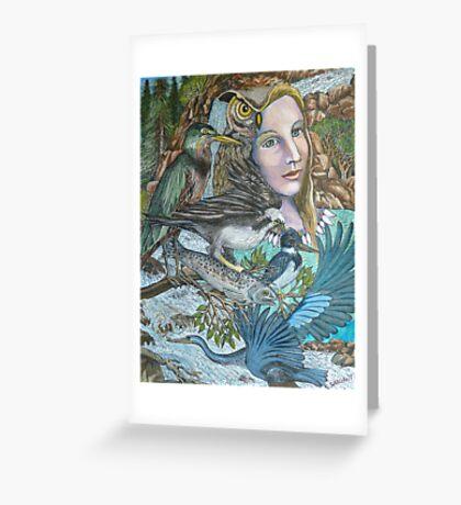 River Spirit Greeting Card