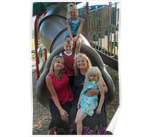 Family Day - Punxsutawney Playgound, PA Poster