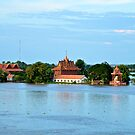 Cambodia floods by Carl LaCasse