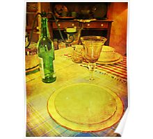 Place Setting - Still Life Poster