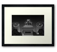 Get the feeling you're being watched? Framed Print