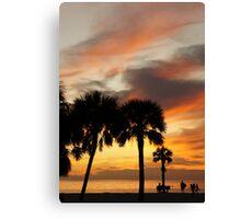 Tropical Vacation Canvas Print