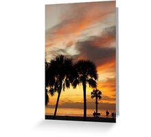 Tropical Vacation Greeting Card
